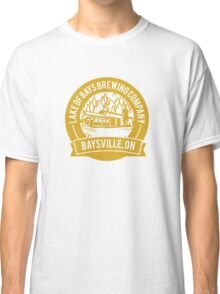 Lake of Bays Brewing Company - Baysville, ON: Cartoon Circular, Mustard Classic T-Shirt