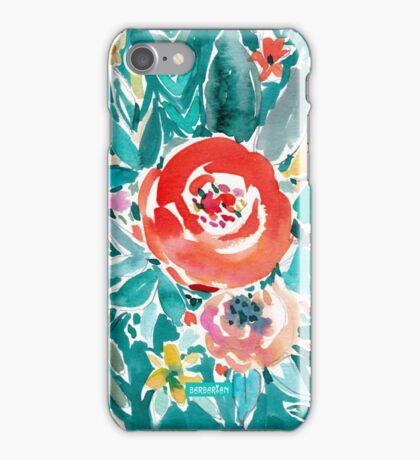 IN FLOW FLORAL iPhone Case/Skin