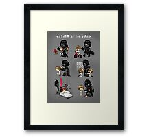 Father of the Year Framed Print