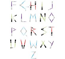 Lightsaber Typeface by konitane