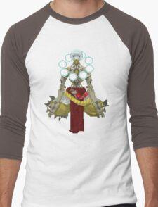 Zenyatta Pixelated  Men's Baseball ¾ T-Shirt