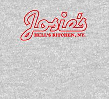 Josie's Bar & Grill, Hells Kitchen - Red Womens Fitted T-Shirt