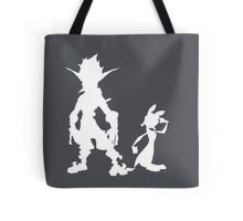 Jak and Daxter: The Precursor Legacy Silhouette 2 Tote Bag