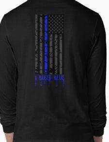 Thin Blue Line - I Bleed Blue Long Sleeve T-Shirt