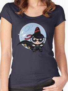 Powerpuff Bayonetta Women's Fitted Scoop T-Shirt
