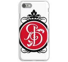 Iphone 5/5s phone cover with red logo iPhone Case/Skin