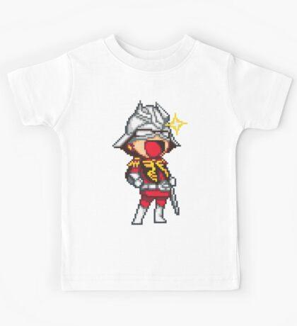 Char Aznable Gundam - SNES Sprite Kids Tee