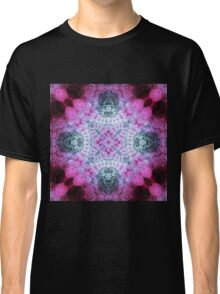 Pink Mandala - Abstract Fractal Artwork Classic T-Shirt