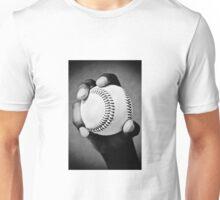 baseball in hand Unisex T-Shirt