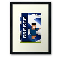 World Cup 2014 - Greece Framed Print