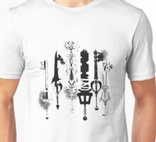KeyKnives white version Unisex T-Shirt