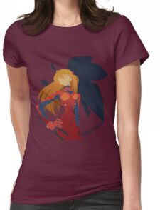 Asuka Shikinami Langley Womens Fitted T-Shirt