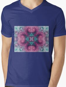 Nirvana Mandala - Abstract Fractal Artwork Mens V-Neck T-Shirt