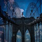Brooklyn Bridge Webs by Chris Lord