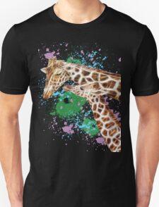 Mom and her Kid Giraffe T-Shirt