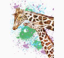 Mom and her Kid Giraffe Unisex T-Shirt