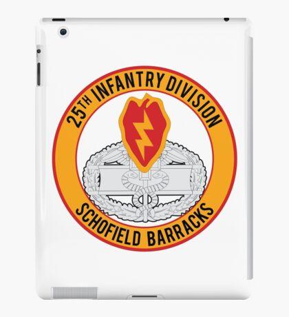 25th Infantry CFMB iPad Case/Skin