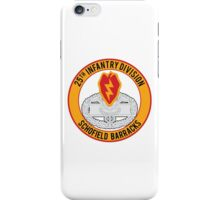 25th Infantry CFMB iPhone Case/Skin