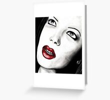 Shirley Manson Greeting Card