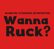 Rugby: 80 minutes, 15 positions, no protection. Wanna ruck? by MalcolmWest