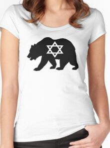 Bear Jew Women's Fitted Scoop T-Shirt
