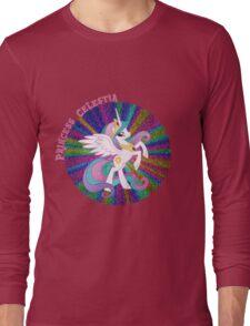 GlitterPrincessCelestia Long Sleeve T-Shirt