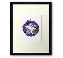 GlitterPrincessCelestia Framed Print