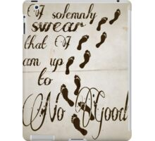 I Solomnly Swear in Paper  iPad Case/Skin