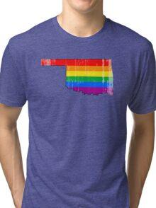 Oklahoma Pride Tri-blend T-Shirt