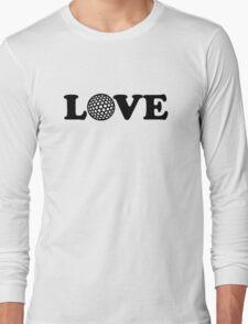 Golf Love Long Sleeve T-Shirt