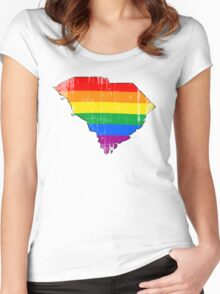 South Carolina Pride Women's Fitted Scoop T-Shirt
