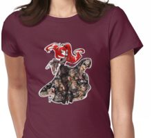 Flower Witch Womens Fitted T-Shirt