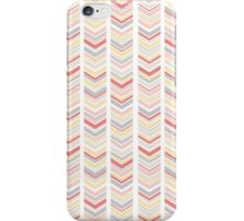 Pink, Buttercup and Gray Chevron iPhone Case/Skin