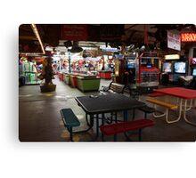 Redondo Beach Arcade Canvas Print