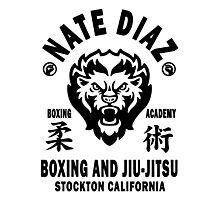 Nate Diaz Boxing And Jiu-Jitsu Photographic Print