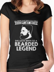 Bearded Legend Women's Fitted Scoop T-Shirt