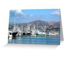 Ventura Harbor Greeting Card