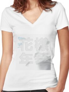 Bangtan Boys [BTS] - In The Mood For Live Pt.1 Women's Fitted V-Neck T-Shirt