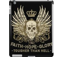 Faith - Hope - Glory iPad Case/Skin