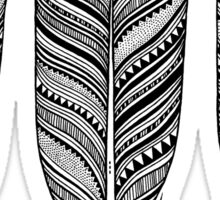 Tribal Feather Sticker