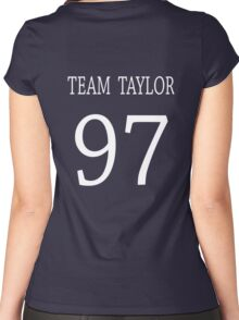 Team Taylor 97  Women's Fitted Scoop T-Shirt