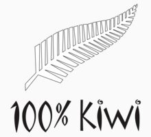 100% Kiwi T-shirt by Carter478