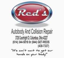 Red's Autobody and Collision Repair logo shirt by JamesChaffin