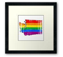 Washington Pride Framed Print