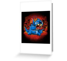 Stitchzilla Greeting Card