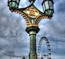 Westminster Lamps by Andrew Pounder