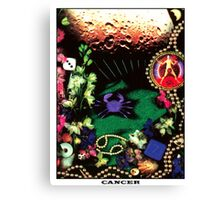 Astrology Series: Cancer Canvas Print