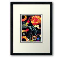 Astrology Series: Leo Framed Print