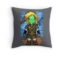 Son of Hyrule Throw Pillow