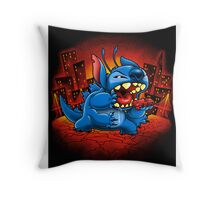 Stitchzilla Throw Pillow